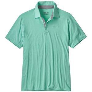 NWT Patagonia Cactusflats Polo Shirt Soft Size S